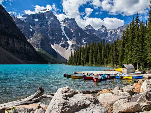 Single Reis door Canada & Rocky Mountains